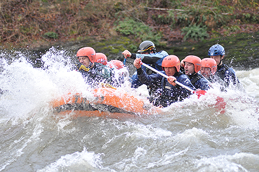 Whit Water Rafting at hell hole